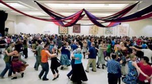 Large Room with dancers